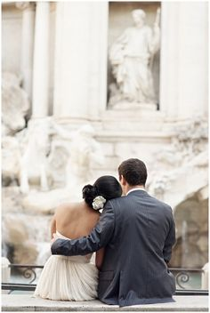 The Trevi Fountain! <3 me dream wedding photo