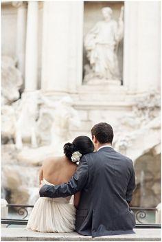 The Trevi Fountain! <3 me dream wedding photo
