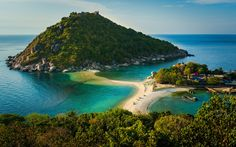 Koh Nang Yuan, Surat Thani Province: This private island is the ideal place for divers. It's a short boat ride from Koh Tao, and great for a day trip.