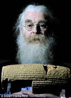 Dr Irving Finkel, Assistant Keeper of the Department of the Middle East at the British Museum, translated the cuneiform script on the tablet. There are dozens of ancient tablets that have been found which describe the flood story but Finkel, Assistant Keeper of Ancient Mesopotamian script, languages and cultures Department at the British Museum, says this one is the first to describe the vessel's shape.