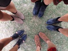 At the festival with @Dirty Laundry Footwear   ! Going clockwise starting from the top: Paxton, South Coast, Pitch, Indigo Girl, Under Cover