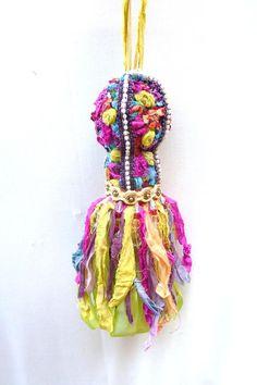 Decorative Tassel  Bohemian Decor  Gypsy Decor  by atopdrawer, $35.00