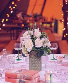 Wedding Table Decorations Tables Green Cream