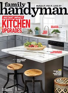 Dos and Don & From a First-Time DIY U-Bahn Fliesen Backsplash Installieren Table Saw, A Table, Fire Table, Family Handyman Magazine, U Bahn, Kitchen Upgrades, Do It Yourself Home, Home Hacks, Building