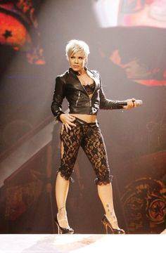 P!NK <3 - love her hair in this shot!!!!!