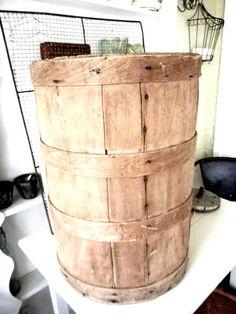 Vintage Farmhouse Solid Wood Primitive by vagabondsandcaravans, $135.00