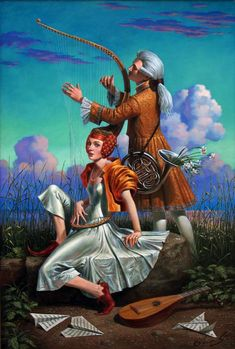 Sentimental Journey    2012  -           Michael Cheval