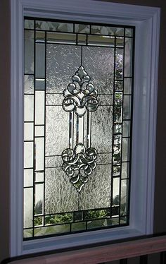 beveled glass window by Transparent Dreams Glass Studio