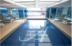 Mosaic tiled Heated Swimming Pool SS Antoinette Photo from Uniworld