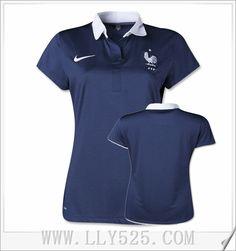 Acheter Maillot De Foot France Femmes pas cher 2014 Coupe Du Monde Domicile a prix cassé de lly525.com