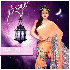 Explore this beautiful saree in this pure month of ramadan festival only with Ekakanya Saree..#EthnicWear #Saree #DesignerLook #Elegance #EkakanyaSarees