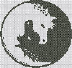 [animaux - animals - cheval - point de croix - cross stitch - Blog : http://broderiemimie44.canalblog.com/]