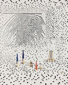 «Building The City» (2013) de Farah Atassi.