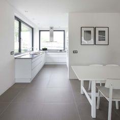 ... Witte Tegel Keuken op Pinterest - Witte Tegels, Tegel en Bruin Graniet