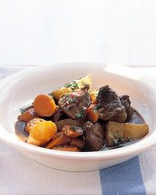 This satisfying stew, filled with tender meat and vegetables, is just the thing for a cold winter's night.