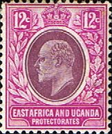 British East Africa and Uganda 1904 King Edward VII SG 38 Fine Mint Scott 34 Other KUT Stamps HERE