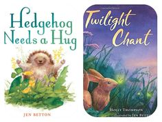One talented creator's works grace two new #picturebooks books, Hedgehog Needs a Hug (by Jen Betton) & Twilight Chant (by Holly Thompson w/art by Jen Betton) featuring wonderful animal illustrations. #epic18 #kidlit #kidlitart #readaloud #animalstory #hedgehog #natureforkids #animallife  wp.me/p3X25n-7Gq
