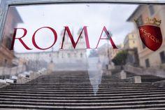 Baustelle Spanische Treppe Rom Italien