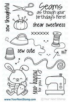 Sprinkles - Sew Cute - Your Next Stamp
