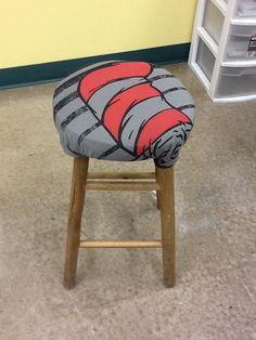 Dr. Seuss classroom stool
