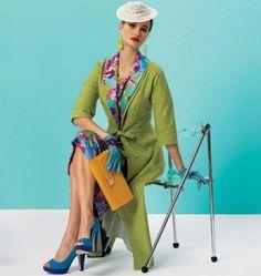 Vogue - 8875 patroon vintage jurk en jas | Naaipatronen.nl | zelfmaakmode patroon online