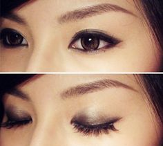 metallic bronze smokey eyes su qi chenman photography
