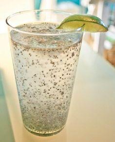 Esta bebida es muy fácil de hacer, es refrescante y la Chía le da un toque ultra-nutritivo.