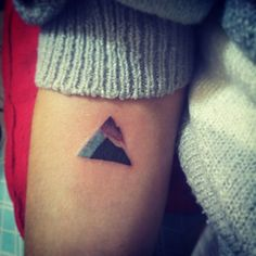OFatalee Geometric Mountain Tattoo