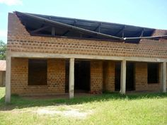 Putting the roof on one of the classroom buildings. Photo Galleries, Buildings, College, Classroom, Outdoor Decor, Home Decor, Class Room, University, Decoration Home