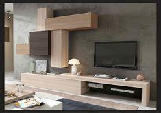 Sala d'estar de disseny Living Room Tv, Living Room Modern, Home And Living, Living Room Designs, Modern Wall Units, Muebles Living, Tv Unit Design, Room Decor, Interior Design