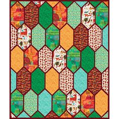 Windham Fabrics Woodland Gareth Lucas Church Window Quilt Kit Hancocks Of Paducah, Church Windows, Windham Fabrics, Quilt Kits, Quilt Top, Quilt Patterns, Woodland, Quilts, Blanket