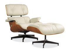 My dream chair.  Ray and Charles Eames' lounger in walnut with ivory leather.  Next time I have a spare $4,000, I'm all over it!