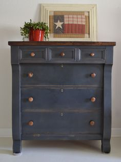 Empire Chest of Drawers...