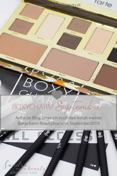 Boxycharm Unboxing: September 2019 All Access Beauty And More, After Dark, September, Blog, Eyeshadow, Make Up, Teaching, Eye Shadow, Blogging