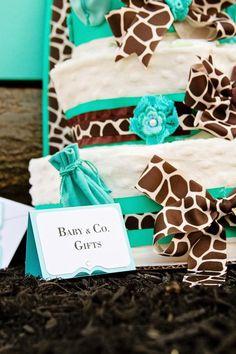 Baby & Co. Tiffany's Baby Shower via Kara's Party Ideas @HUGGIES Baby Shower Planner