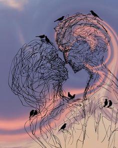 Kiss Raven sky