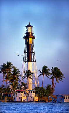 ✯ Hillsboro Lighthouse About a mile south of my parents.  Love seeing this lighthouse, hopefully see it soon!