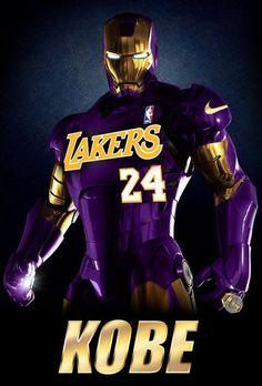 Kobe Iron Man.