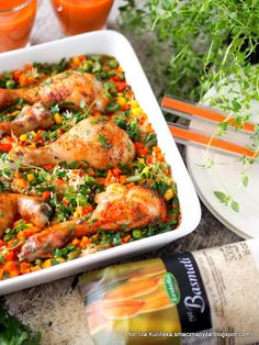 Chicken Rice, Chicken Wings, Paella, Fried Rice, Shrimp, Food And Drink, Dinner, Cooking, Recipes