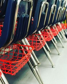 Teachers must put on their creativity hats this fall to rethink how they will store and organize student belongings individually. Student Supply Organization, Student Storage, School Supply Storage, Classroom Organization, Classroom Management, Desk Storage, Storage Basket, 3rd Grade Classroom, New Classroom