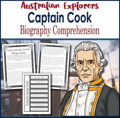 Grade 5 HASS  Australian Explorer Captain James Cook  Biography Comprehension  Year level: FiveAustralian Curriculum Content Descriptor:  ACHASSK110  The role that a significant individual or group played in shaping a colonyCaptain James Cook is one of the worlds most famous explorers and is also a major figure in Australia and New Zealands exploration.