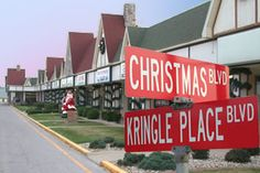 Santa Claus, Indiana.... next best thing to the North Pole :)