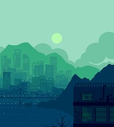 softwaring: Some of my pixel art from the past... - Kaoru Hasegawa Artworks