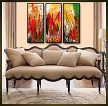 Geni020 36x36 Original Abstract Painting by Geni by genistudio, $89.99