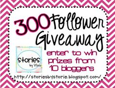 300 Follower Giveaway!