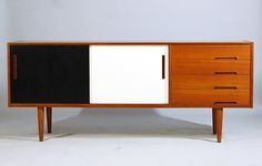 Our credenza...but with painted doors...hmmm