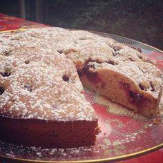 Vegan Blackberry Breakfast Cake