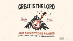 Psalm 48:1 (NRSV) - Biblia.com