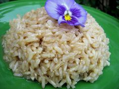 I love rice. I  also love garlic and cook with it a lot. It took a few tries to get the correct measurements for this recipe in order to submit it. I dont always use measurements when I cook.  This is very easy to make. This is a very moist and buttery rice with a good,  but not overpowering garlic flavor. For rice with less moisture, use less water and for a less garlicky flavor, use less garlic.  I read in an article on an internet medical site, that if garlic is cooked too long, it loses…