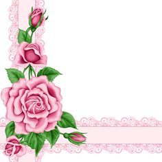 Pink Roses Decoration PNG Clipart Image